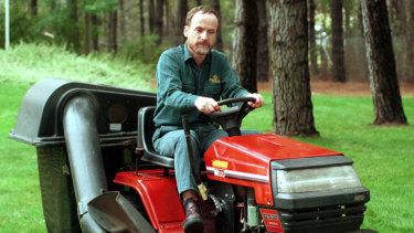 Jim Penman in 2000 when he still sported his trademark beard.