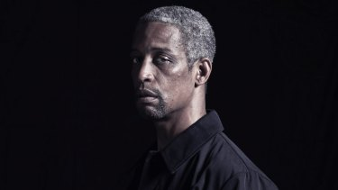 Kenneth Ransom plays Julius Caesar in the latest Bell Shakespeare production.