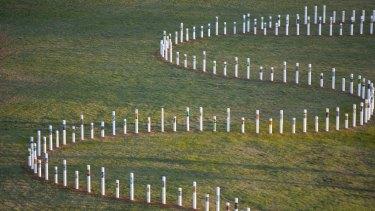 The Siev X Memorial has been in Yarralumla, ACT, since 2006.