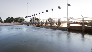 Blue Sky runs a $220 million water fund.