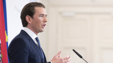 Austrian Chancellor Sebastian Kurz of the People's Party has called for snap elections following the collapse of his coalition with the Freedom Party.