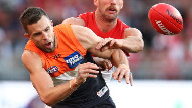 Brett Deledio is looking forward to a rare Friday night game for the GWS Giants.