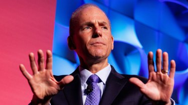 Dennis Muilenburg, president and chief executive officer of Boeing, has worked hard to improve relations between the company and the White House