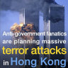 Chinese newspaper uses photo of 9/11 attacks to accuse Hong Kong protesters