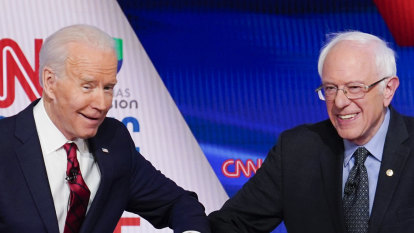 Biden aims for party unity as Trump's approval ratings rise