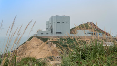 A gasification waste to energy plant on Shengsan island in China.