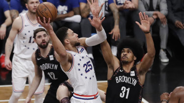 Ben Simmons was in fine form in Game 3 against the Nets.