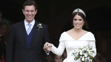 Princess Eugenie tied the knot with Jack Brooksbank in a traditional ceremony.