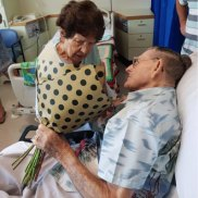 Paramedics play cupid for 100-year-old Queensland veteran