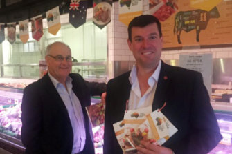 Former Liberal MPs Brian Ellis and Phil Edman.