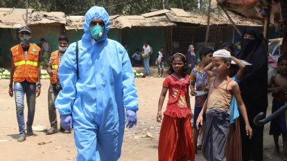 Bangladesh reports first virus death in Rohingya refugee camp