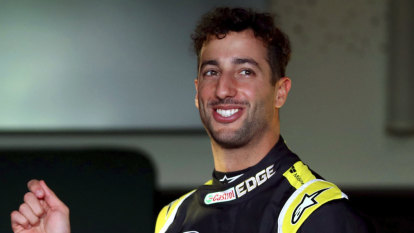 Ricciardo's Renault slowest in Formula One testing