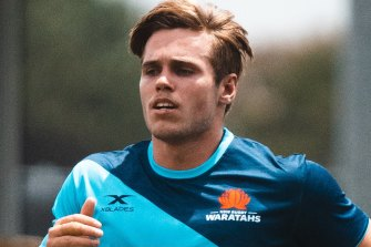 Will Harrison will wear the No.10 jersey in his Super Rugby debut