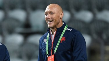 Craig Fitzgibbon is set to coach the Sharks in 2022.