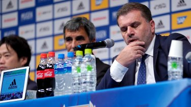 International return?: Former Socceroos coach Ange Postecoglou.