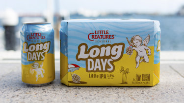 Long Days Little IPA is the latest mid-strength craft beer on the market, this one from Little Creatures.