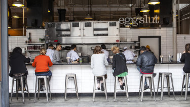 It's not without precedent: Eggslut at Los Angeles' Grand Central Market.