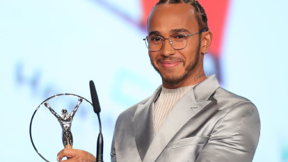 Messi, Hamilton and Biles clean up at Laureus awards