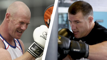 Paul Gallen to take on Barry Hall in boxing's battle of the bad boys