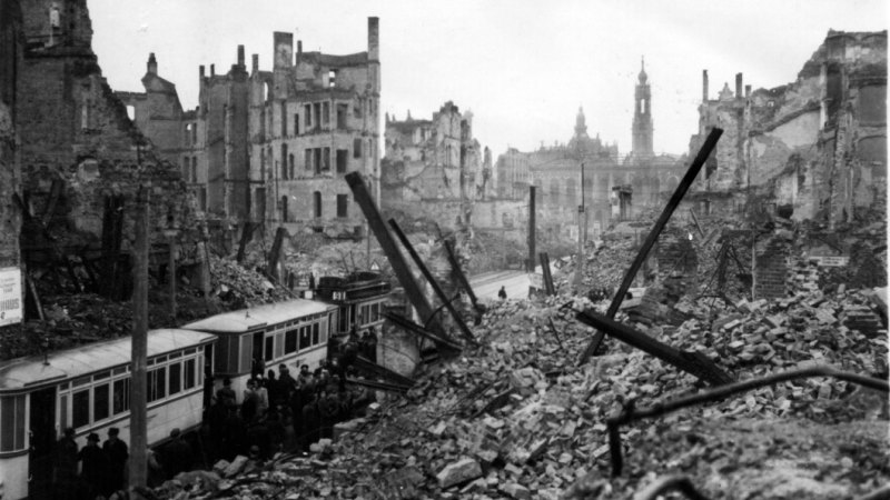 World War II bombing raids disturbed earth's atmosphere