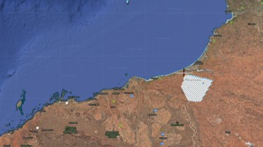 The AREH proposed site area in the Pilbara is about a tenth of the size of Tasmania.