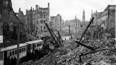 Massive explosions of huge bombs that destroyed cities such as Dresden also disturbed the ionosphere hundreds of kilometres above the earth.