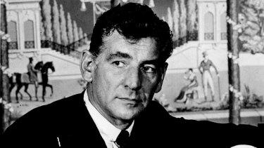 Composer Leonard Bernstein in 1965.