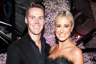 Roxy Jacenko and Oliver Curtis.