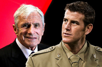 Media mogul Kerry Stokes is backing his executive, decorated former special forces soldier Ben Roberts-Smith.