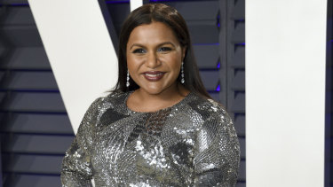 Mindy Kaling at the Vanity Fair Oscar Party.