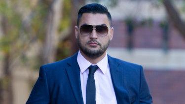 Salim Mehajer at Parramatta District Court last week.