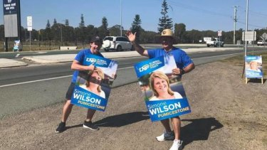 LNP candidate for Pumicestone Simone Wilson was among those joining the court action.
