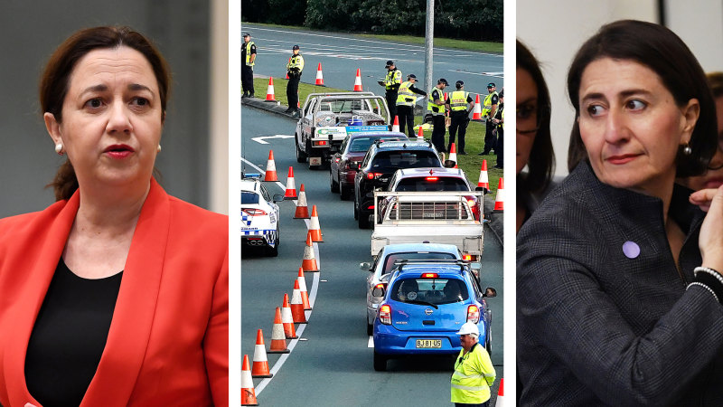 Senator accuses federal coalition of 'co-ordinated attack' over Qld border