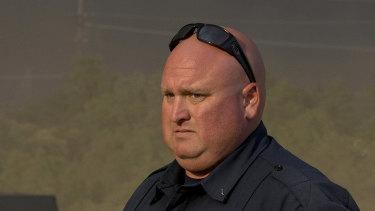 """""""Mayday"""": Firefighter Jeremy Stoke."""