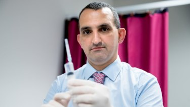 West Sydney surgeon Fred Betros.
