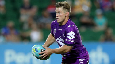 Melbourne's Harry Grant has requested a release from the Storm.