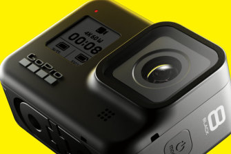 The GoPro Hero 8 Black has built-in mounting and new software capabilities.
