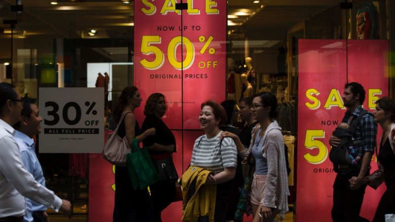 Retail sales drop to levels not seen since the 1991 recession