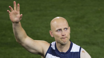 Ablett and Parfitt played out grand final with breaks