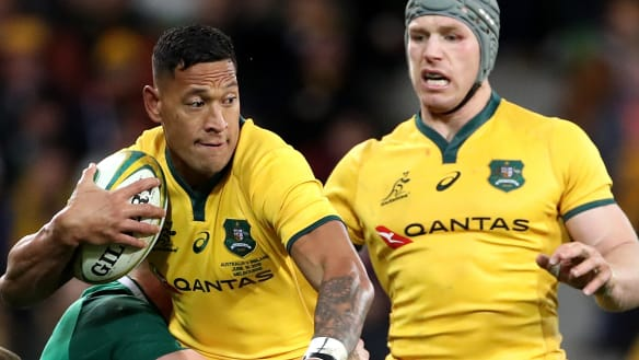 Campo on Folau: 'He's got to get in the game more, to back himself'