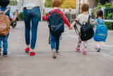 When they start kinder and school you'll feel you need to bond with a lot of other parents.