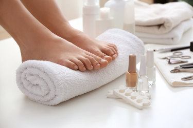 Getting your feet sandal ready can be done at home, but it's important to safety proof each step to prevent the risk of infection.