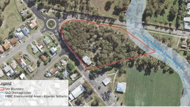 The plan for a proposed childcare centre in Deception Bay involves clearing a locally known koala corridor.