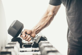 Slow down your strength workouts to focus on the muscles you're working rather than powering through reps.