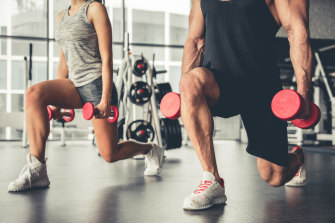 Maintaining muscle mass with strength training helps shore up our immune system.