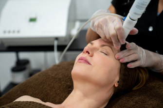 The treatment can help target pigment deep in my epidermis.