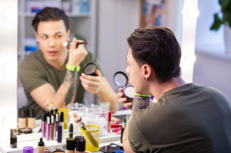More men are looking for understated makeup.
