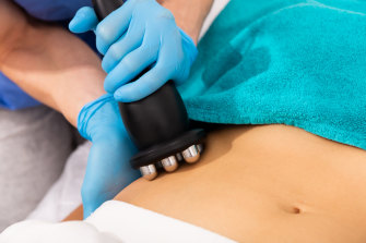 One treatment of Emsculpt Neo equals 20,000 abdominal crunches, according to the dermatology nurse.