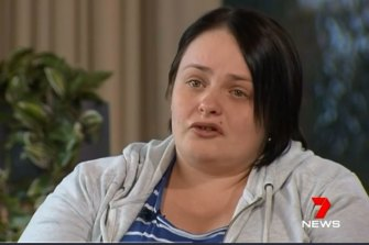 Amanda Furner says she has nightmares of the accident.