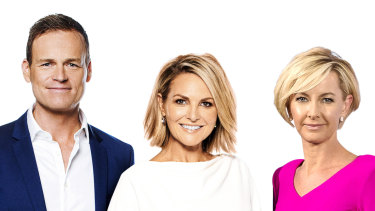 Today will be hosted by Georgie Gardner and Deb Knight in 2019, with Tom Steinfort reading the news.